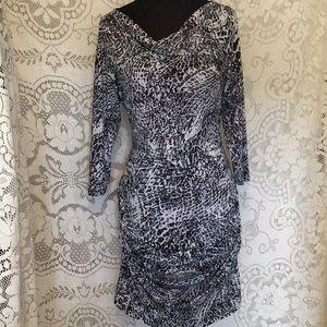 Snakeskin 🐍 Printed, Sheath Dress